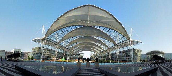 sân bay khác của Đức là Munich