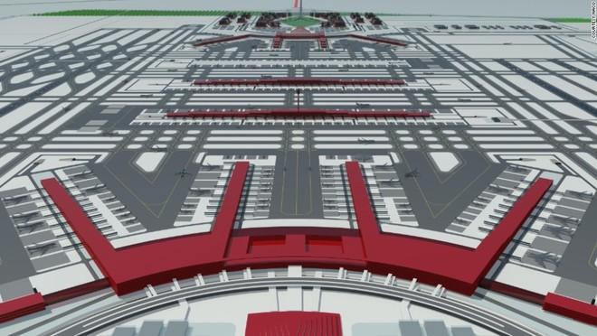 sân bay mới Beijing Daxing