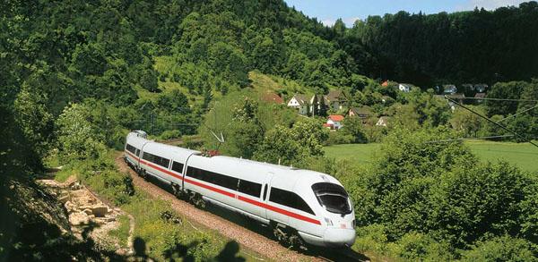 đi lại ở Châu Âu bằng tàu hỏa