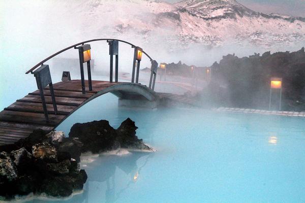 Suối nước nóng Blue Lagoon, thành phố Grindavik, Iceland
