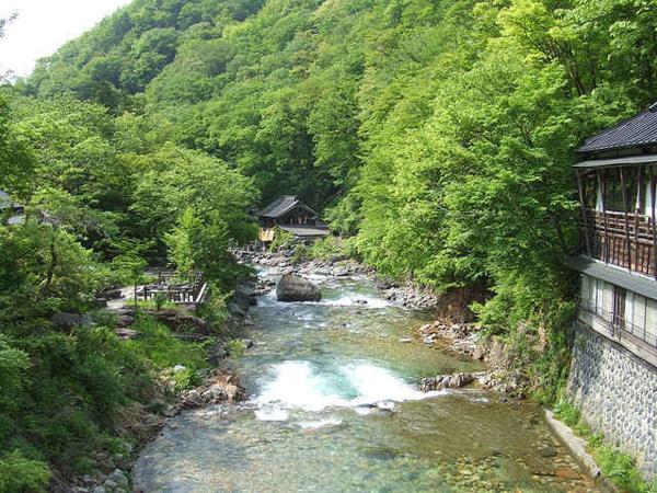 Suối nước nóng Takaragawa Onsen, tỉnh Gunma, Nhật