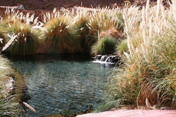 Suối nước nóng Termas de Puritama, Sa mạc Atacama, Chile