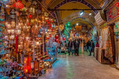 Mot goc nho cua khu cho Grand Bazaar