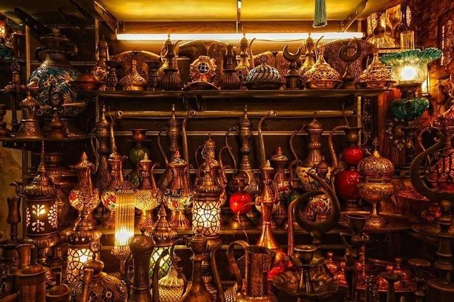 cho Grand Bazaar - du lich Tho Nhi Ky 10