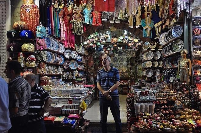 cho Grand Bazaar - du lich Tho Nhi Ky 4