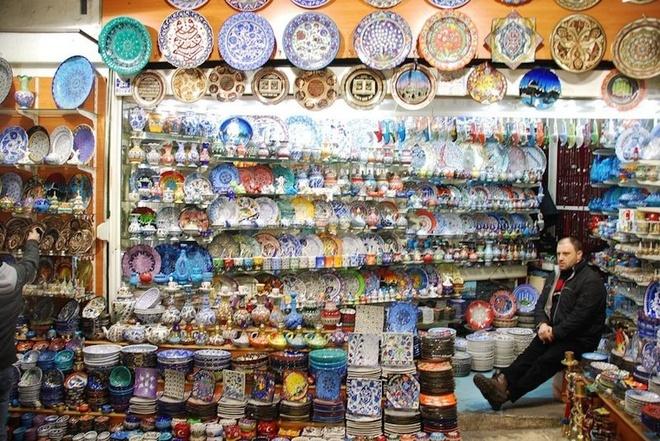 cho Grand Bazaar - du lich Tho Nhi Ky 5