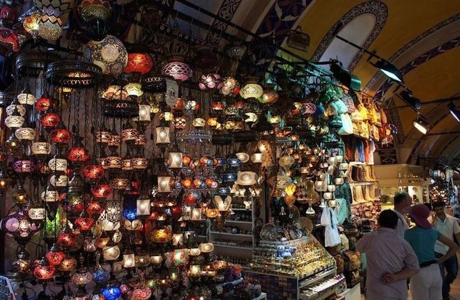 cho Grand Bazaar - du lich Tho Nhi Ky 7