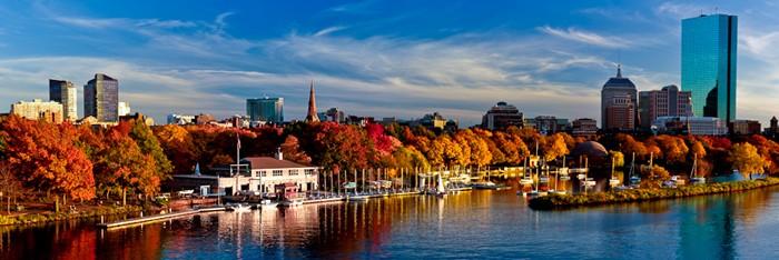 mùa thu tại boston