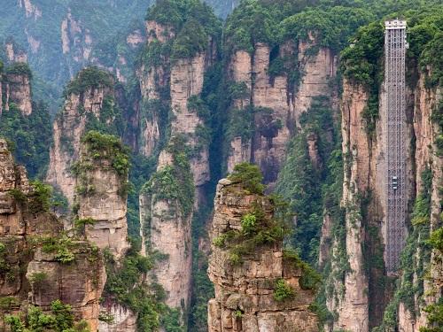công viên quốc gia Trương Gia Giới ở Trung Quốc